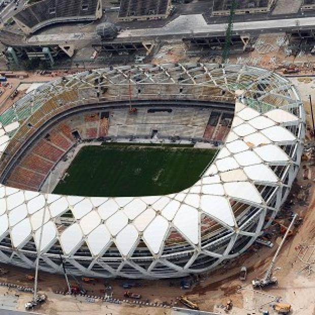 The Bolton News: There have been concerns over the pitch at the Arena da Amazonia in Manaus