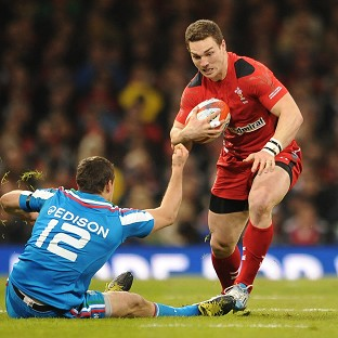 George North is available for Wales after recovering from illness