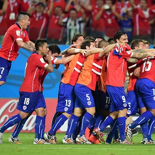 Chile held off an Australia fightback to win 3-1