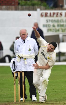Steve Mather took four wickets for Farnworth Social Circle