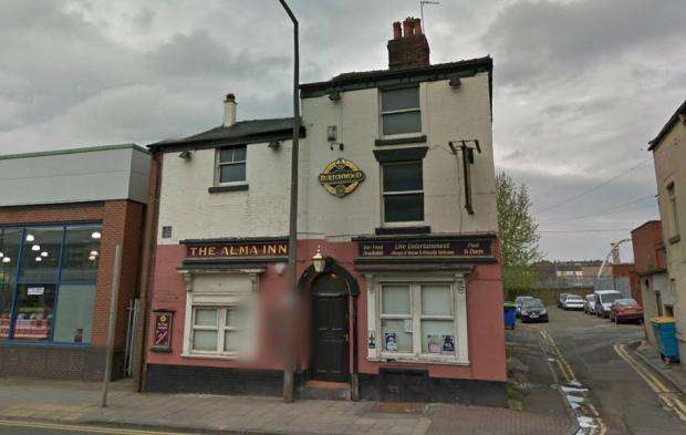 The Bolton News: The Alma Inn in Bradshawgate. Picture from Google Maps.