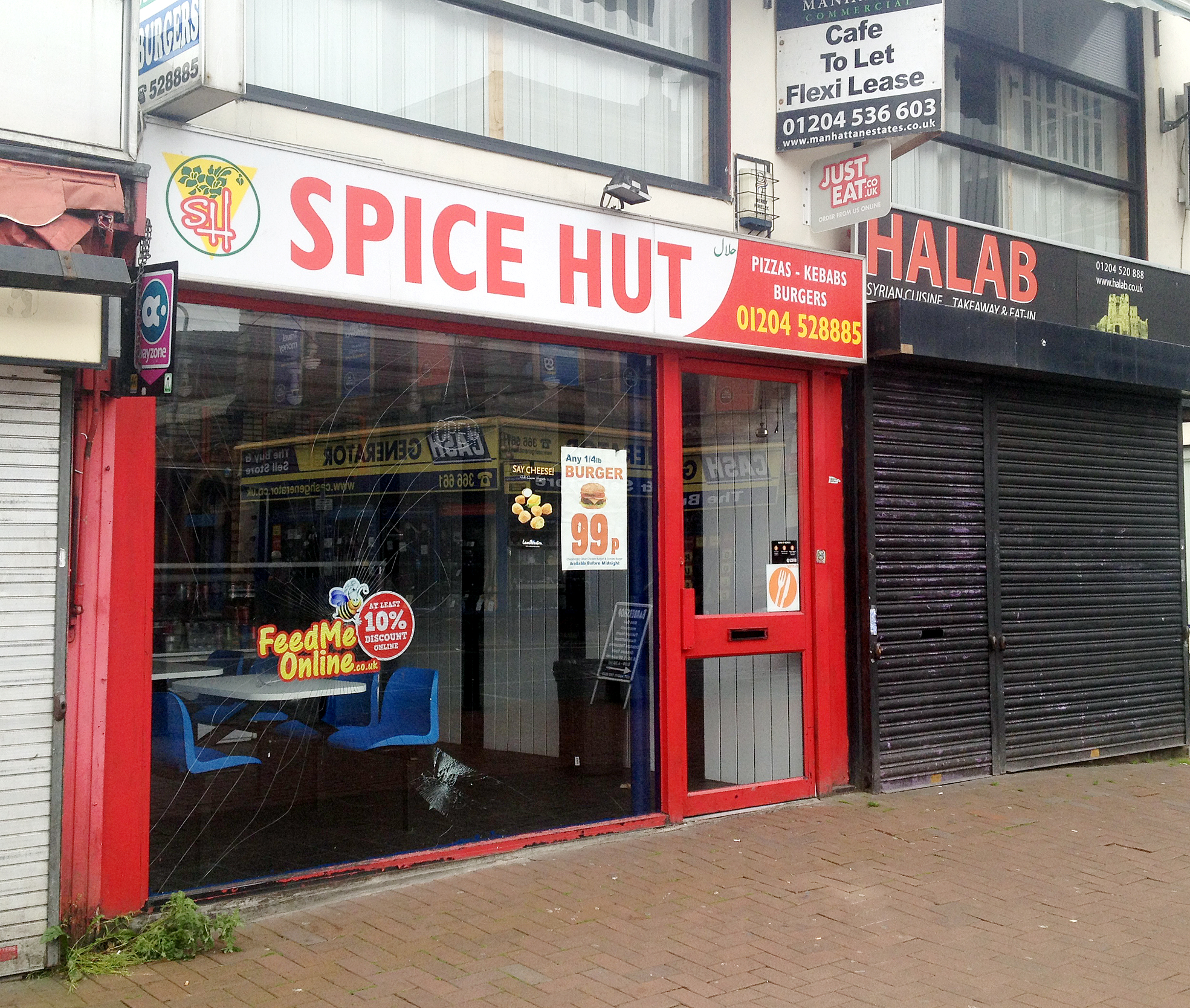 The town centre Spice Hut is under scrutiny
