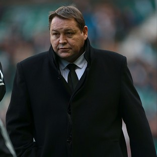 Steve Hansen believes England are struggling