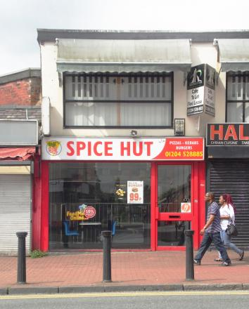 Spice Hut in Bradshawgate, which has been forced to close early