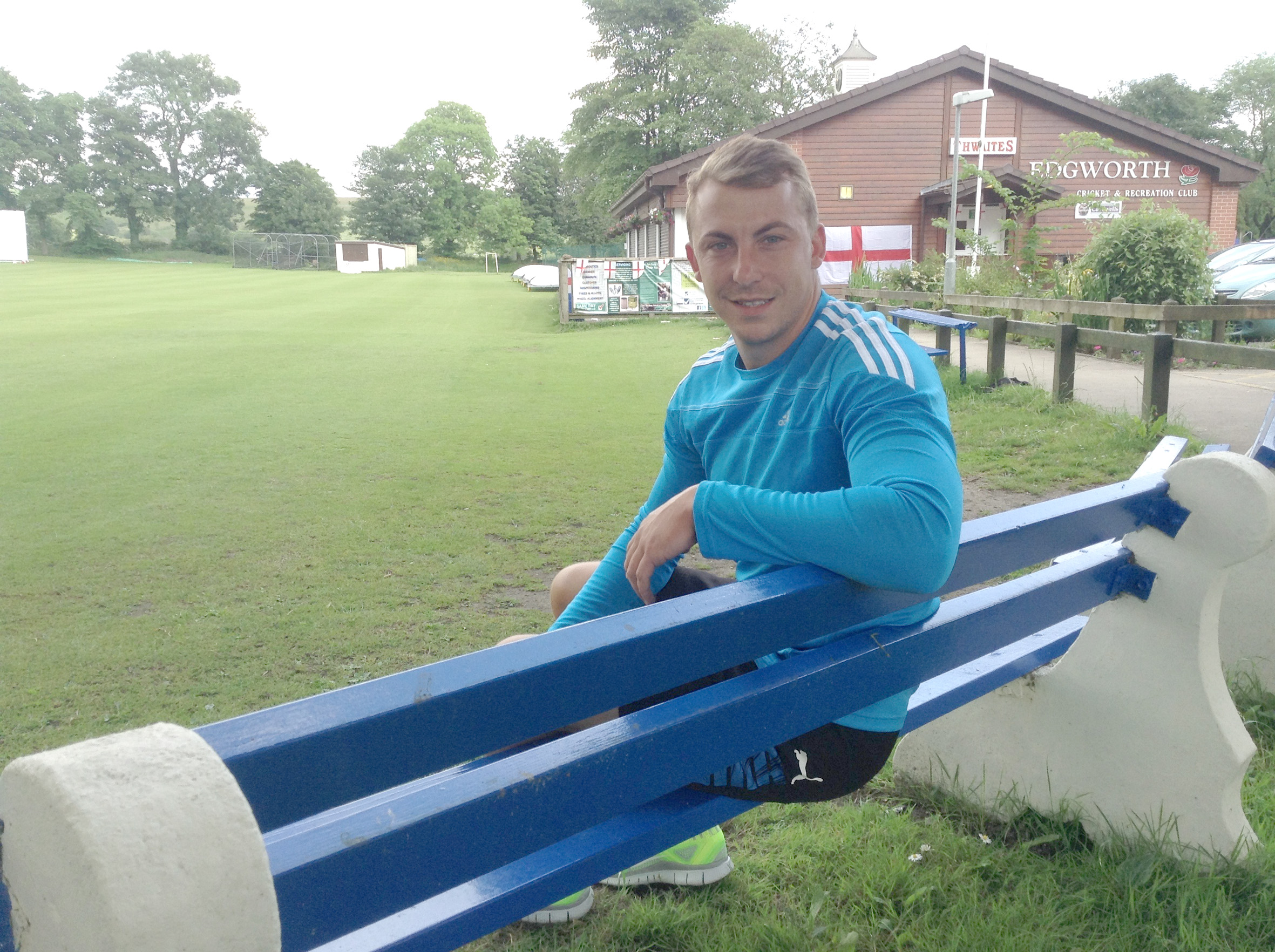 Jaco Fourie is loving life at Edgworth