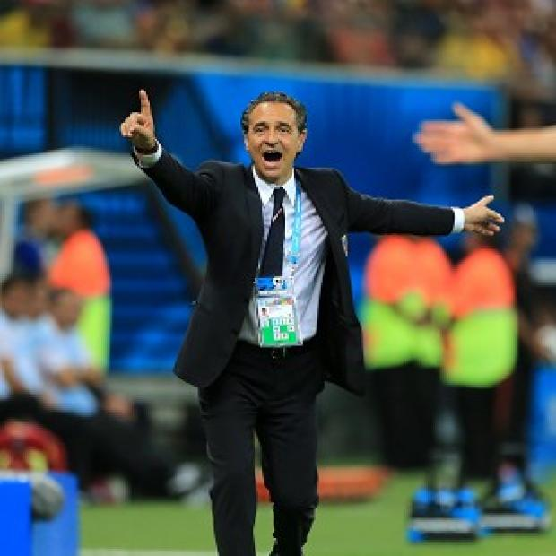 The Bolton News: Cesare Prandelli is looking for his side to regroup ahead of the clash with Italy