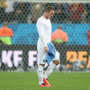 Wayne Rooney says the England players are hurting after they were knocked out of the World Cup