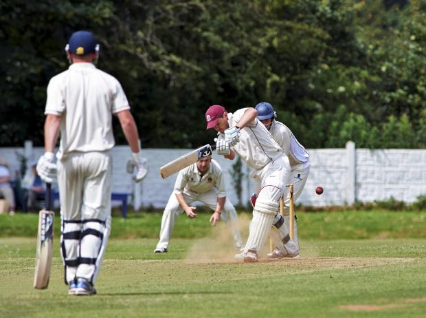 The Bolton News: Flixton's Stephen Lang top-scored with 56 to dump holders Atherton out of the C