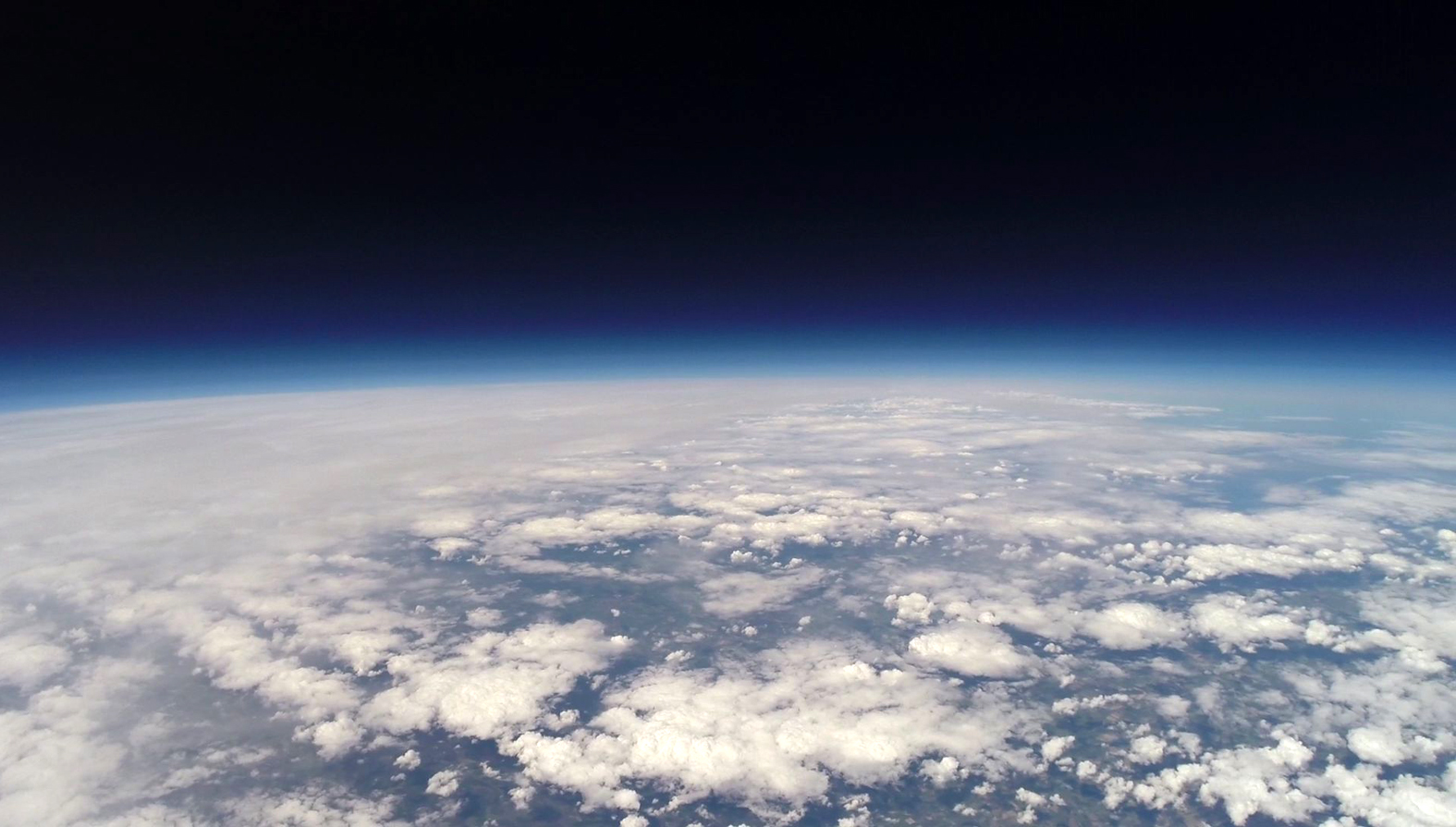 Video shows incredible images of Earth from Bolton School's space balloon