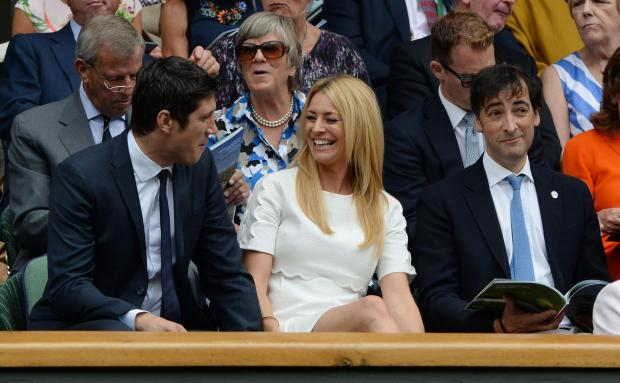 The Bolton News: Vernon Kay and Tess Daly at Wimbledon. Anthony Devlin/PA Wire