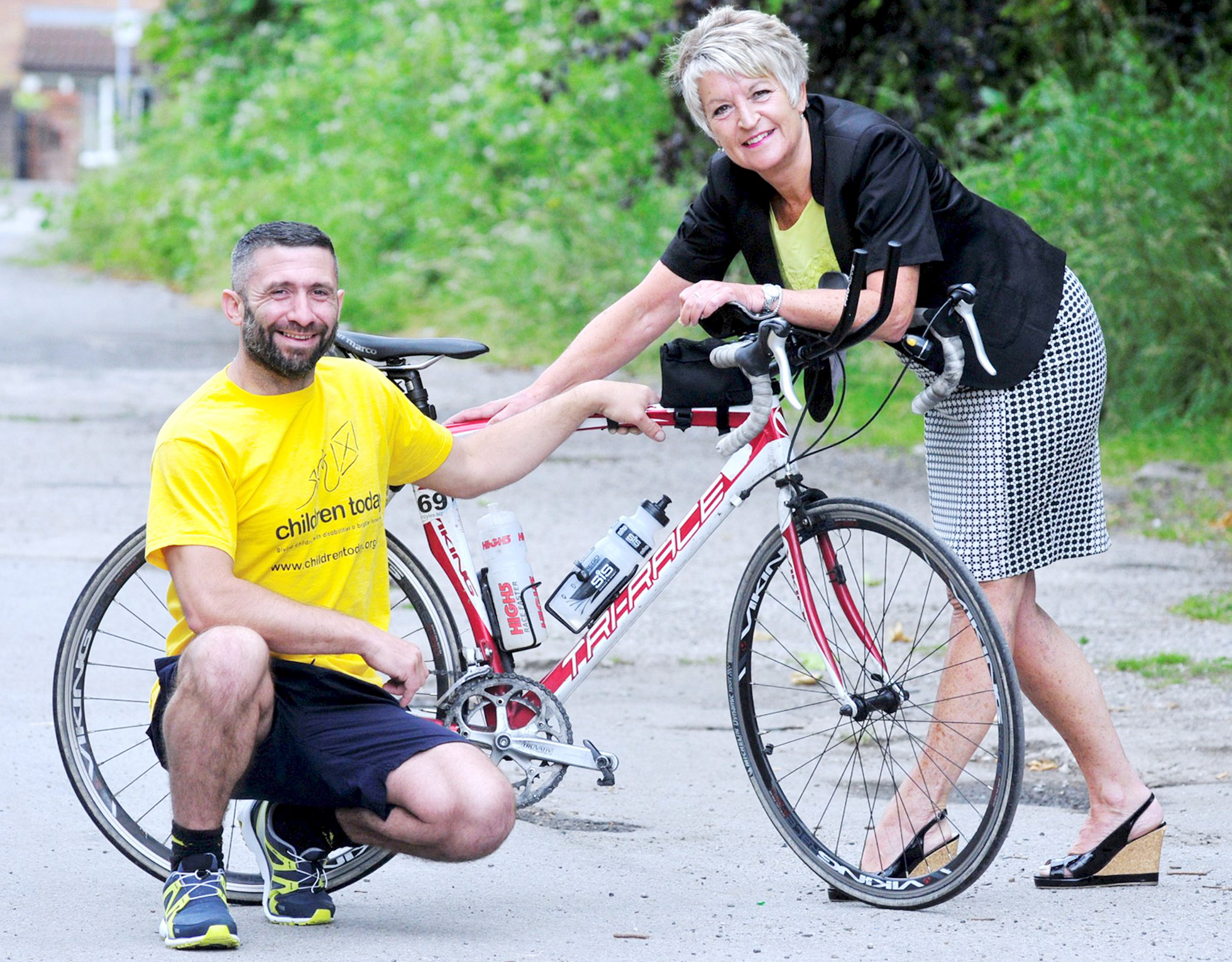 Traveller gears up for Ironman triathlon