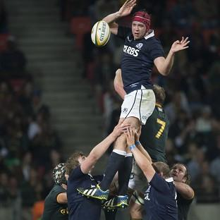 Grant Gilchrist felt Scotland paid for a slow start (AP)
