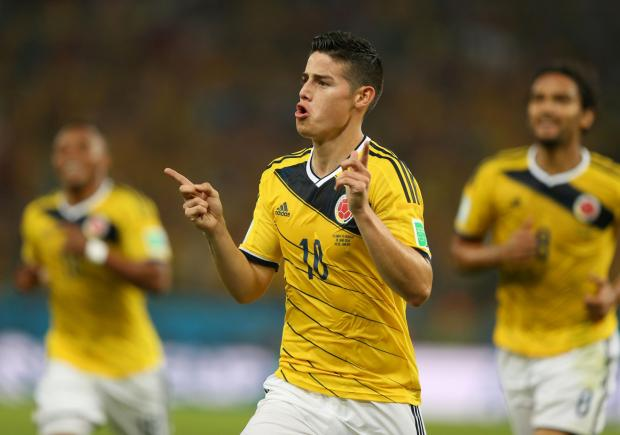 The Bolton News: James Rodriguez