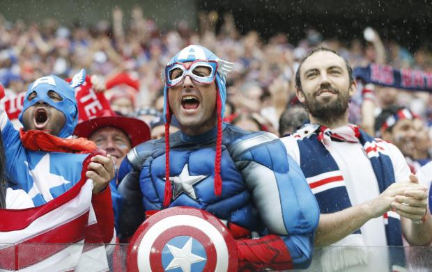 USA fans have enjoyed the World Cup