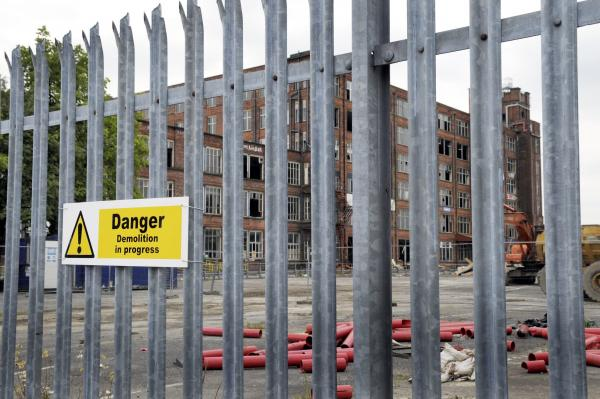 Demolition work starts on 'death-trap' mill