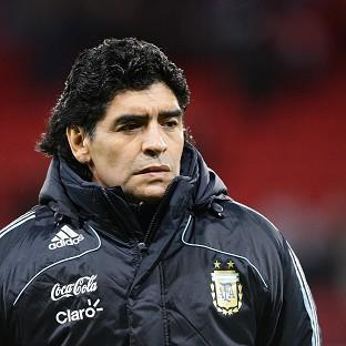 Former Argentina star Diego Maradona, pictured, believes things look