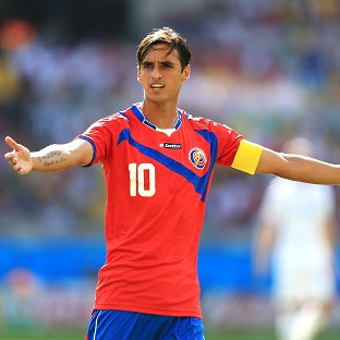 Costa Rica's Bryan Ruiz says the team have nothing to lose in Saturday's World Cup quarter-final against Holland
