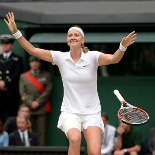 Petra Kvitova claimed her second Wimbledon title on Saturday