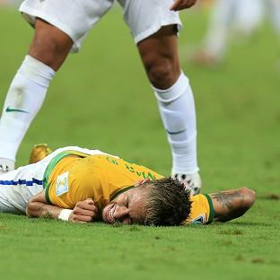 The Bolton News: Brazil's Neymar will miss the rest of the World Cup