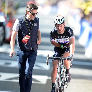 Mark Cavendish's shoulder injury ended his Tour de France
