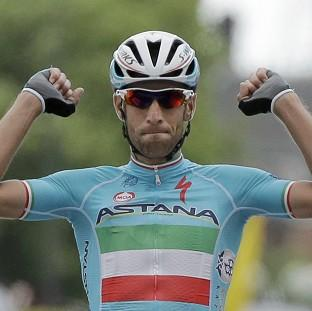 Italy's Vincenzo Nibali claimed the second stage victory in Sheffield (AP)