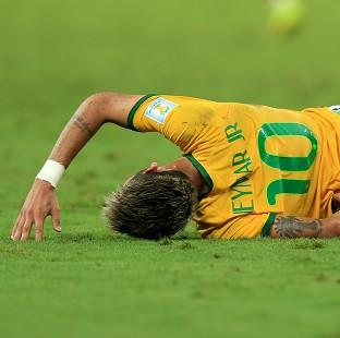 Brazil's Neymar thought he was paralysed