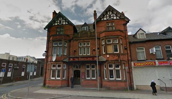 Oddfellows in St Helens Road, Daubhill. Picture from Google Maps.