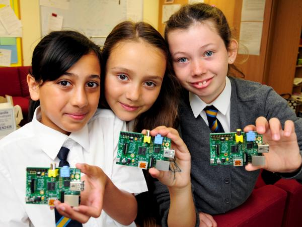 Markland Hill School girls show off their coding skills at Houses of Parliament