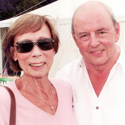 Harry Peers with wife Jean