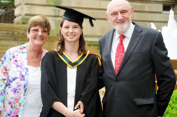 First class degree for student who came to UK as orphan