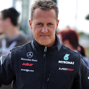 Michael Schumacher is understood to be slowly improving, according to his wife Corinna