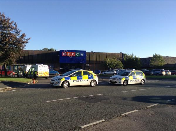 The Bolton News: Police have swooped on Mecca Bingo in Breightmet