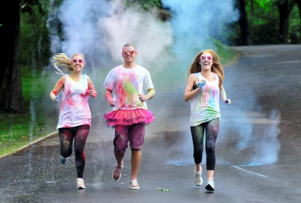 New 'colour run' event to be launched in Queens Park next month