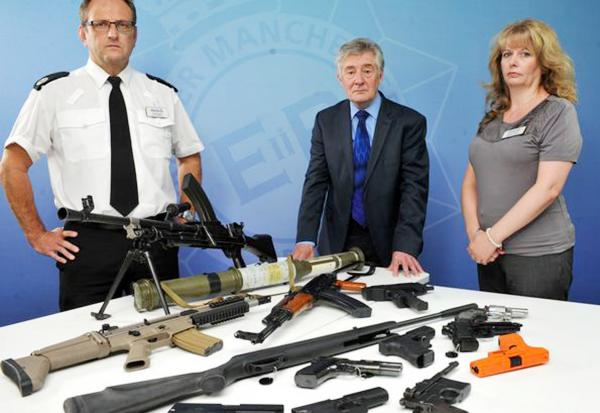 'Hand in your guns', say police