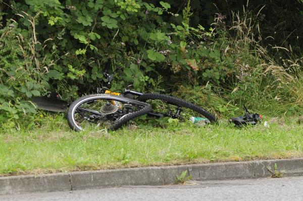 Police appeal over collision which left cyclist in 'critical' condition