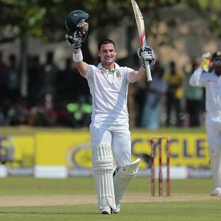 Dean Elgar scored a century for South Africa (AP)