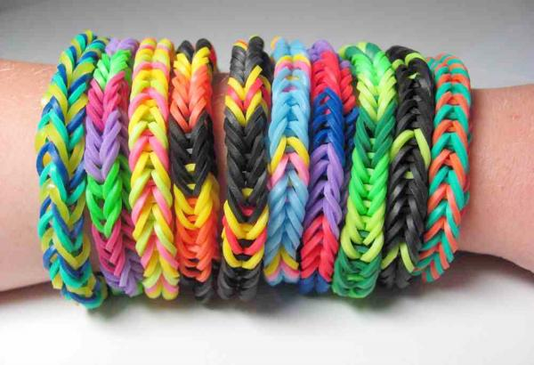 The loom band craze has swept the country - but now they've been banned by two schools in Bolton