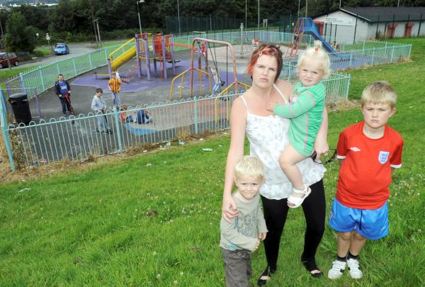 'Clean up this mess', demand mums over 'unfit' Breightmet play area