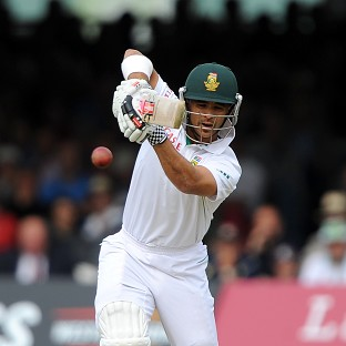 JP Duminy scored a century for South Africa