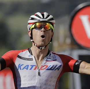 Kristoff wins stage, Nibali leads