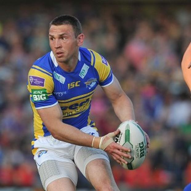The Bolton News: Kevin Sinfield was sent off for Leeds