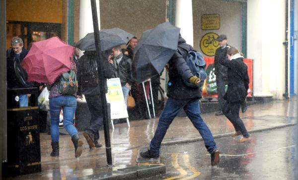 Weather warning as rainfall could exceed 50mm in places