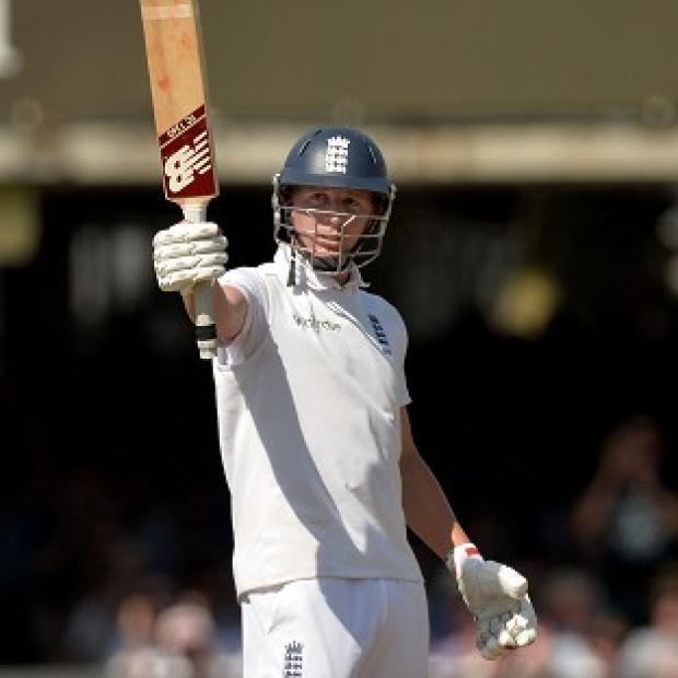 The Bolton News: Gary Ballance celebrates his half-century at Lord's