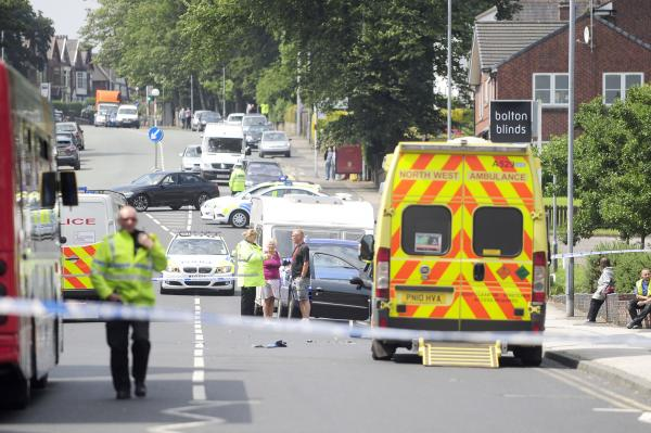 UPDATE: Man fighting for life after hit-and-run driver ploughs into him during police chase