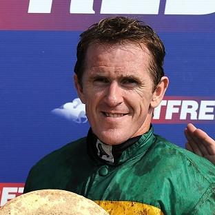 AP McCoy after winning at Market Rasen to break David Pipe's record