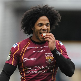 Bradford winger Luke George was among the tries against his old club