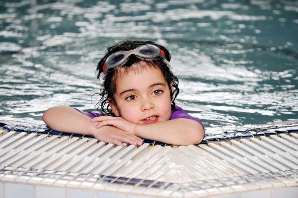 Young Rosanna survives major heart operation - and now dreams of Olympic swim medal