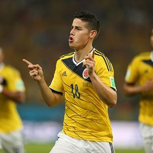 James Rodriguez starred for Colombia at the recent World Cup