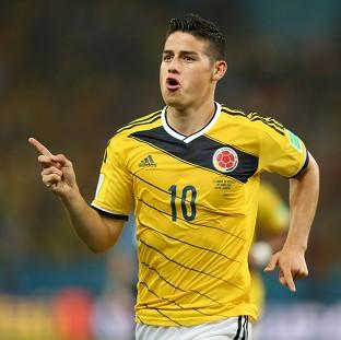 James Rodriguez wants to he