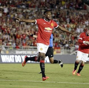 Danny Welbeck was among the Manchester United goalscorers (AP)